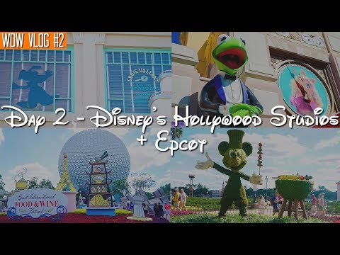 Walt Disney World Vlog: Day 2 - Disney's Hollywood Studios + Epcot | October 2017