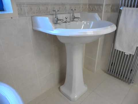 Burlington Classic Round Basin with Brindley Freestanding Bath at Homecare Supplies Darlington.MOV