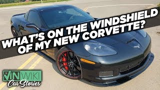 Who painted the windshield on my Corvette?