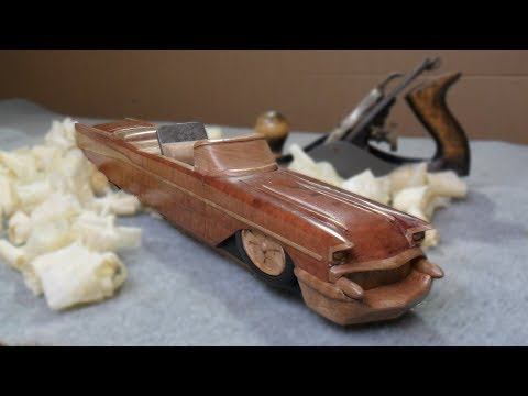 Make a wooden hand plane shaped like a CHEVY!
