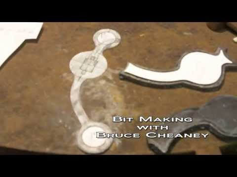 Bit Making How to Make Handmade Horse Bits Part 1