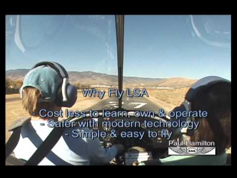 Why Fly Light-Sport Aircraft (LSA) for sport and private pilots