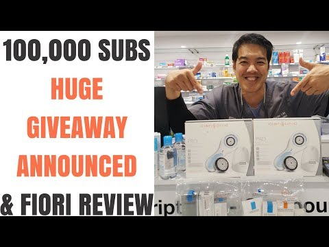 HUGE GIVEAWAY - Best Skin Care Devices & Products 100K