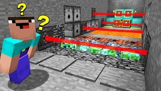 1 NOOB ENTERS A ROOM FULL OF MINECRAFT TRAPS... (EP 10)