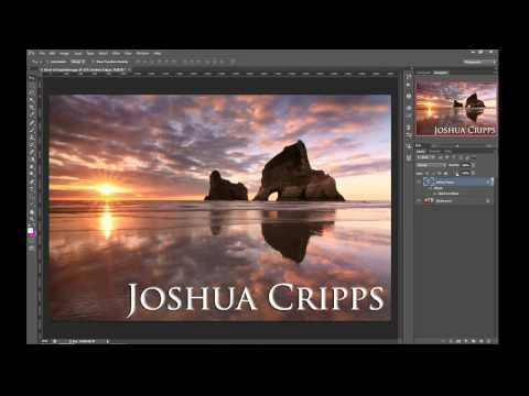 Photoshop - How to make a watermark.....invisible!