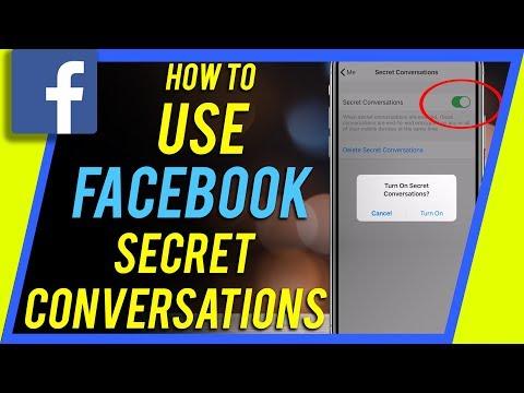 How to Use Facebook Messenger Secret Conversation - Send hidden messages