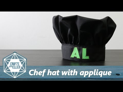 Making A Chef Hat For Al's Hack Shack | Sewing Tutorial