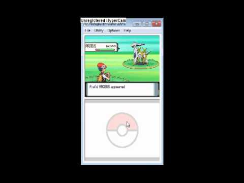 How to find and catch Arceus in Pokemon Diamond without events or action replay
