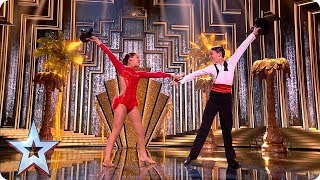 Mini movers Libby and Charlie light up the stage | Semi-Finals | BGT 2019