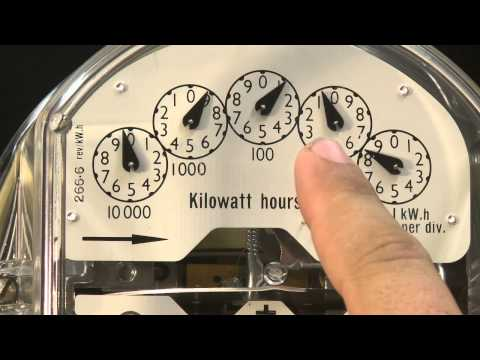 How to read my mechanical meter