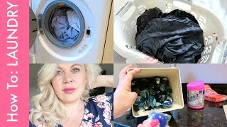 My Laundry Routine!