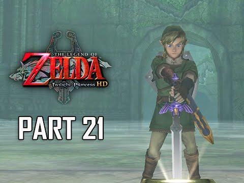 The Legend of Zelda Twilight Princess HD Walkthrough Part 21 - Master Sword (Hero Mode)