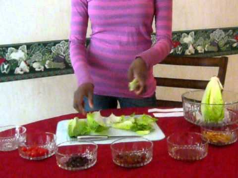 Demonstration Speech How to Make a Great Salad