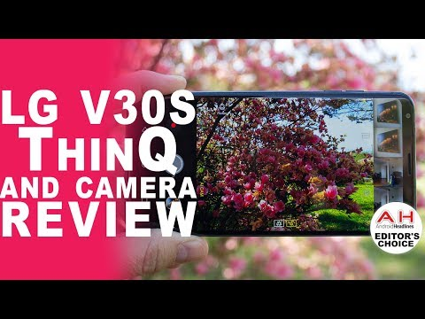 LG V30S ThinQ and Camera Review - We've Got the Blues