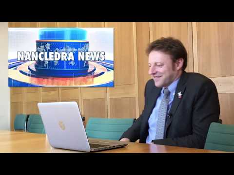 Pupil Parliament: Derek Thomas MP reacts to Nancledra Primary School, Penzance