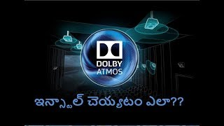 Dolby Atmos|Cinematic Experience 8D|Software Free Download