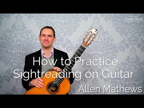 How to Practice Sight-Reading on Guitar (methods and tips)