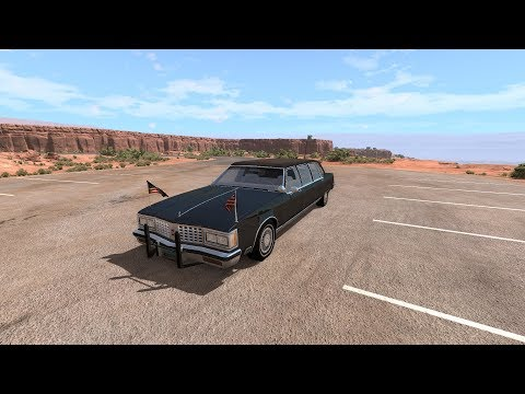 BeamNG Drive: - american '80 full size limo presidential limousine