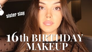 Download 16TH BIRTHDAY MAKEUP TUTORIAL | India Grace Video