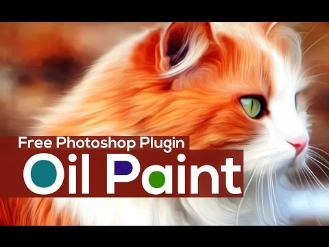Free  Adobe Photoshop Oil Painting Plugin