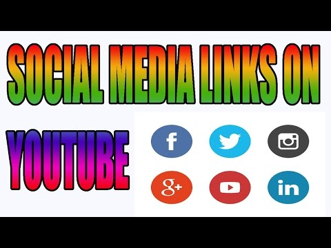 Social Media Links on YouTube CHANNEL? AP Apne channel par Social Media links kaise add kary?