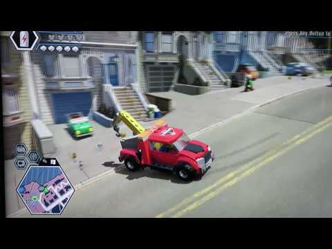 Lego City Undercover - How to get to Lego lady liberty island-Part 1