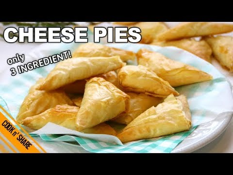 Three Ingredient Cheese Pies
