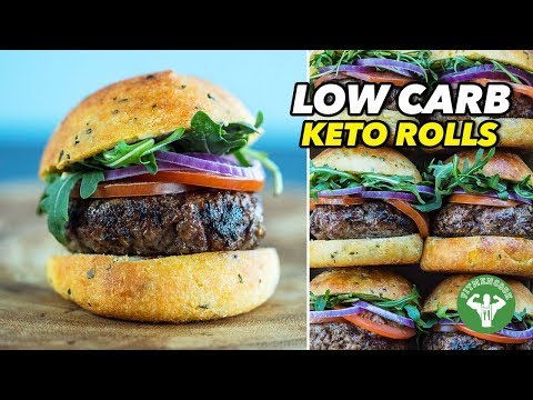 Low Carb Keto Rolls And Sliders - Super Bowl Recipe