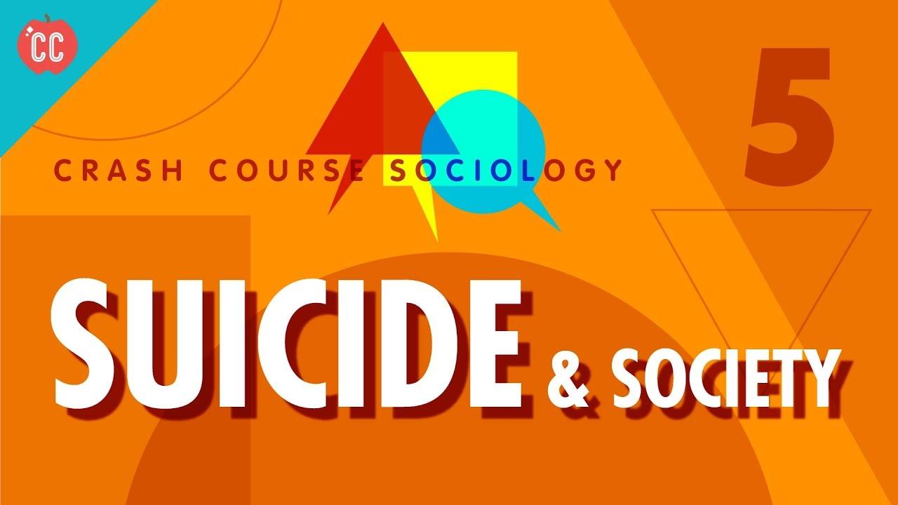 Émile Durkheim on Suicide & Society: Crash Course Sociology #5