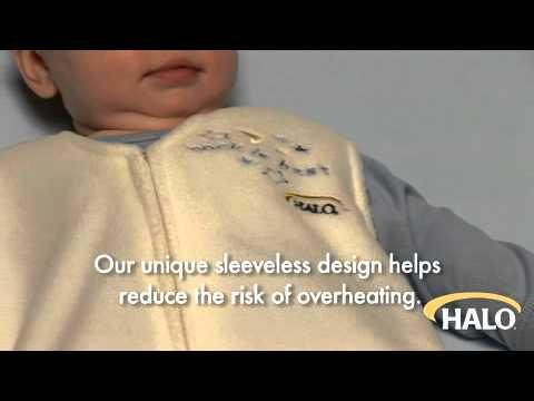 HALO® SleepSack® wearable blankets: The Safer Way to Sleep®