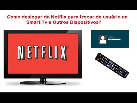 Como Trocar de Usuário Netflix em Smart Tv, Blu-ray... Samsung, Lg, Philips (ou outras)