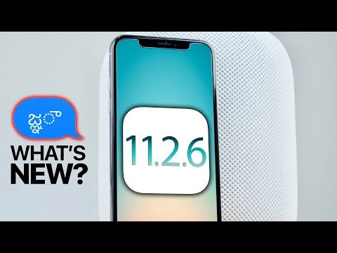 iOS 11.2.6 Released! What's New Review