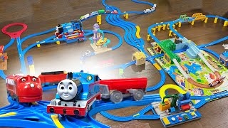 Our BIGGEST Plarail Track Ever with Thomas and Chuggington