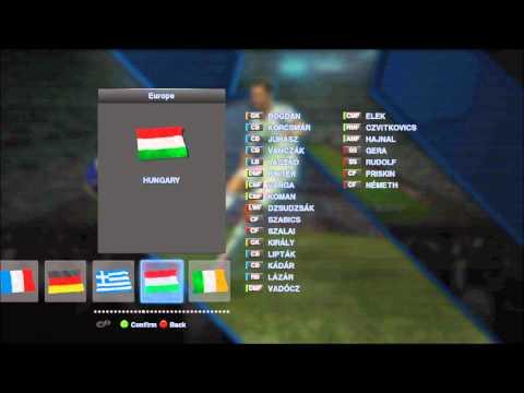 PES 2013 European National Teams
