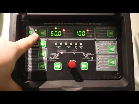 Everlast PowerMTS 211Si Features overview
