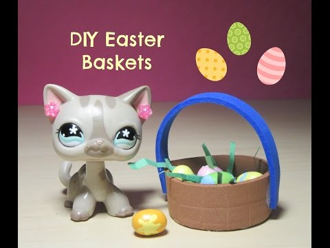 LPS: DIY Easter Baskets || Sugar Diamond