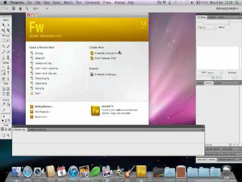 Creating Animated Banner in Adobe Fireworks