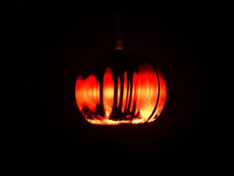 Woodturning Night Lamp Time Lapse