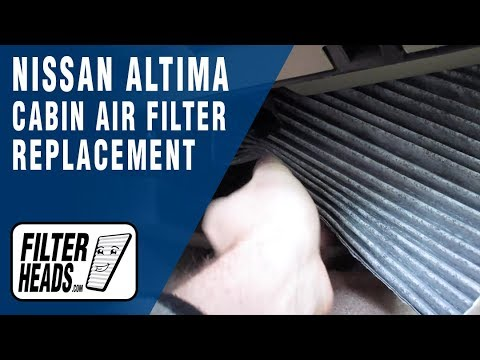 How to Replace Cabin Air Filter 2009 Nissan Altima