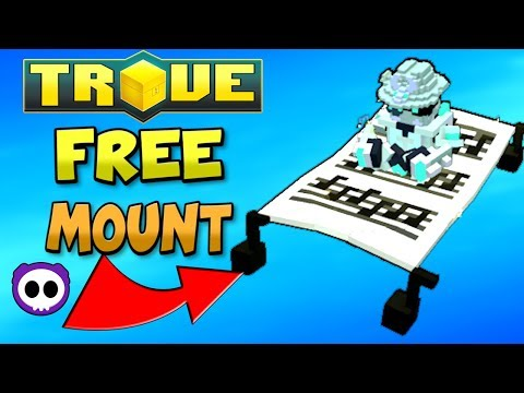 Get a FREE Music Mat Gliding Mount in Trove BEFORE November 20th, 2017 for PS4/Xbox One/PC