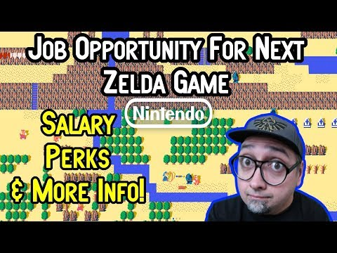 How Much Does Nintendo Pay A Level Designer? New Zelda Switch Job Info!