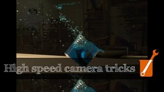 Camera movement and dolly zoom with Chronos high-speed camera