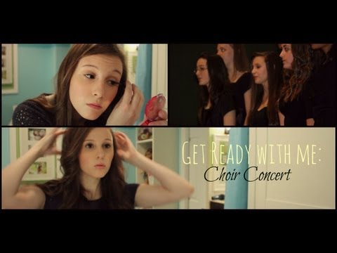 Get Ready With Me | Choir Concert ♡