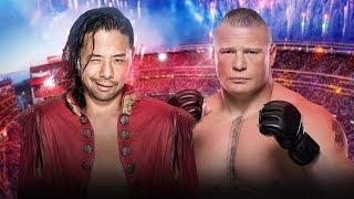 Shinsuke Nakamura vs Brock Lesnar Promo | WWE Dream Match