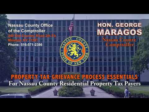 NC Property Tax Grievance e-File Tutorial