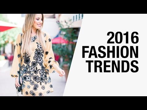 2016 Fashion Trends - Pantone Colors, Androgyny, Romanticism, 70's | FashionBorn x Chictopia