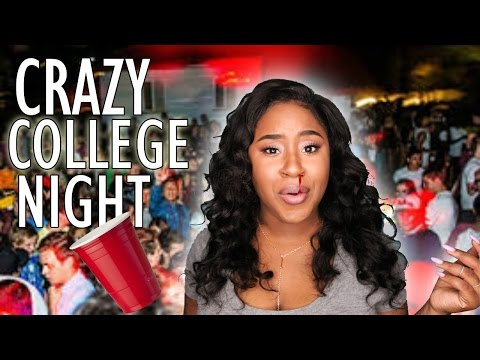 STORYTIME: CRAZY COLLEGE PARTIES! I HAD TO FIGHT MY WAY OUT!