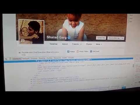 How to verify your facebook/twitter account ( Inspect Element) 2015