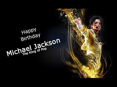 Happy Birthday #VideoGreeting to 'The King of Pop' Michael Jackson