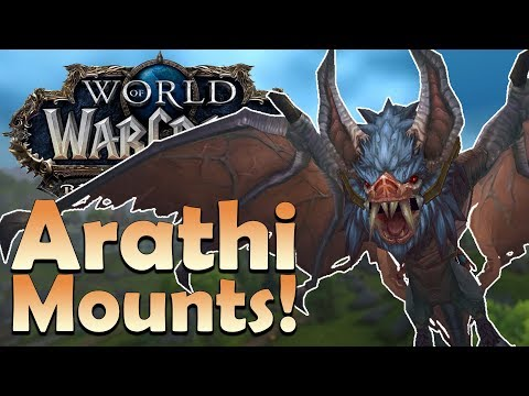 The 5 NEW Arathi Highlands Mounts & Where to Find Them | Battle for Azeroth